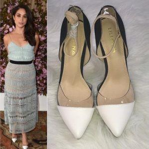 Shoes - 🆕️Gorgeous 2Tone Liliana Faux Leather Pointy Toe